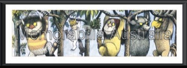 Where The Wild Things Are Slim Framed