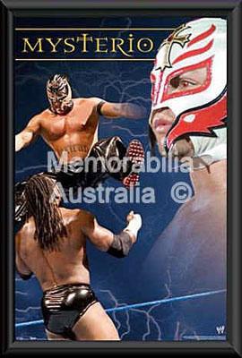 Mysterio Framed Poster