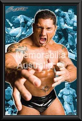 Batista Framed Poster