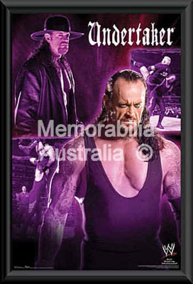 The Undertaker Framed Poster