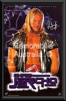 Chris Jericho Framed Poster