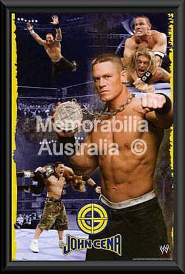 John Cena Framed Poster