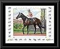 Black Caviar Fine Art Reproduction - Signed Lithograph