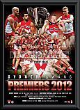 2012 Sydney Swans framed Montage