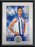 North Melbourne Kangaroos Hero Andrew Swallow signed