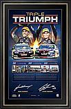 TRIPLE TRIUMPH - V8 SUPERCARS DUAL-SIGNED SUCCESS LITHOGRAPH