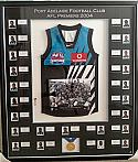 PORT ADELAIDE POWER 2004 PREMIERSHIP FRAMED SIGNED JUMPER