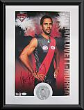Essendon Bombers Hero Nathan Lovett-Murray signed