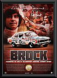 Peter Brock 40th Anniversary Lithograph Framed