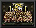 Richmond Tigers 2017 Team Poster Framed