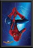 Spiderman Homecoming hang poster framed