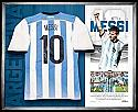 Lionel Messi Argentina shirt signed