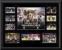 Golden State Warriors 2017 NBA Champions Framed Montage
