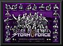 "Melbourne Storm 2012 premiership ""Storm Force"" print framed"