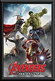 The Avengers Age of Ultron score framed poster