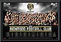 Richmond Tigers 2016 Team Poster Framed