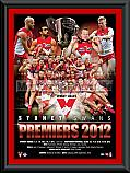 2012 Sydney Swans matted Montage