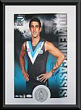 Port Adelaide Power Hero Domenic Cassis signed
