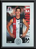 Saint Kilda Saints Hero Lenny Hayes signed