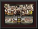 2014 Hawthorn Hawks Premiership matted Montage
