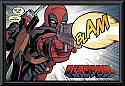 Deadpool blam poster framed