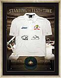 Standing the Test of Time Signed Cricket Shirt