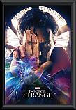 Doctor Strange hand framed poster