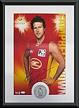 Gold Coast Suns Hero Campbell Brown signed