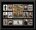 Ned Kelly LE Montage Mat Framed