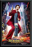 Anchorman 2 Ron Burgundy Framed