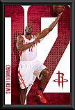 NBA Houston Rockets Dwight Howard Poster Framed
