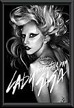Lady Gaga Born this way Poster framed