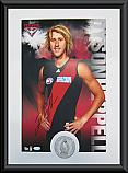 Essendon Bombers Hero Dyson Heppell signed