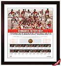 2012 AFL PREMIERSHIP FRAMED SYDNEY SWANS TEAM SIGNED LITHOGRAPH