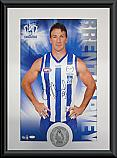 North Melbourne Kangaroos Hero Brent Harvey signed