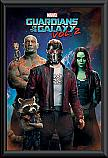 Guardians of the Galaxy 2 Group framed poster