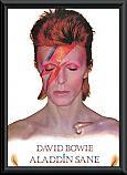 David Bowie Framed Poster