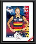 Adelaide Heroes Bernie Vince signed
