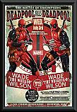 Deadpool Wade vs Wade poster framed