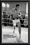 Muhammed Ali Training poster framed