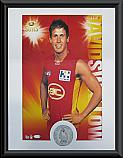 Gold Coast Suns Hero David Swallow signed