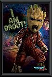 Guardians of the Galaxy 2 Angry Groot framed poster