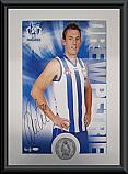 North Melbourne Kangaroos Hero Drew Petrie signed