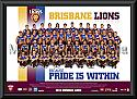 2013 Brisbane Lions team frame
