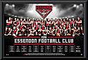 Essendon Bombers 2016 Team Poster Framed