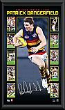 Adelaide Crows Patrick Dangerfield signed vertiramic
