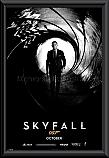 James Bond Skyfall Framed Poster