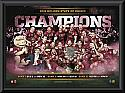 2015 Queensland Maroons State of Origin framed sportsprint