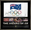 Sally Pearson signed Olympic flag framed