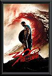 300 Rise of an Empire Blood wave Framed